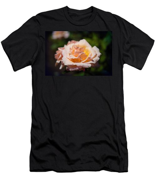 Delicate Rose Men's T-Shirt (Athletic Fit)