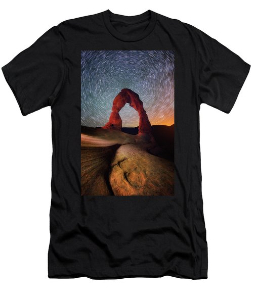 Men's T-Shirt (Slim Fit) featuring the photograph Delicate Spin by Darren White