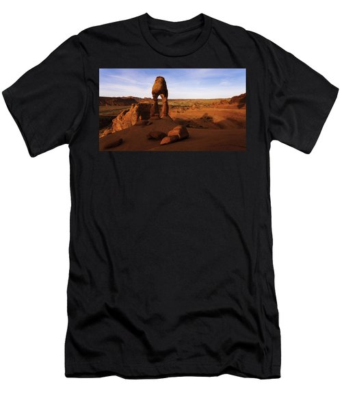Delicate Sunrise Men's T-Shirt (Athletic Fit)