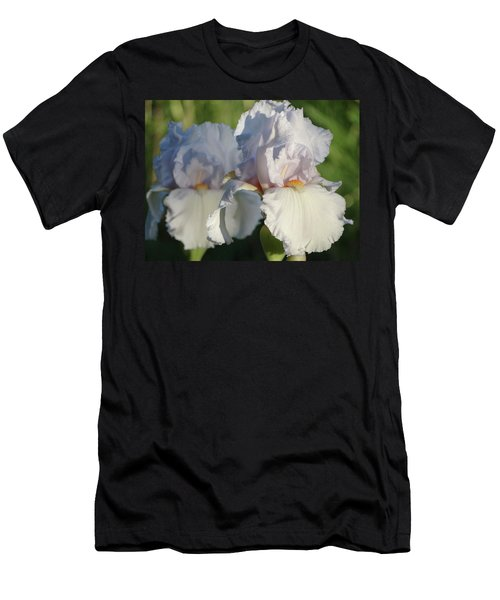 Delicate White Iris Men's T-Shirt (Athletic Fit)
