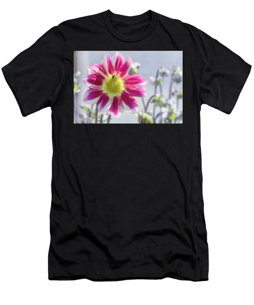 Men's T-Shirt (Athletic Fit) featuring the photograph Delicious Dahlia by Belinda Greb