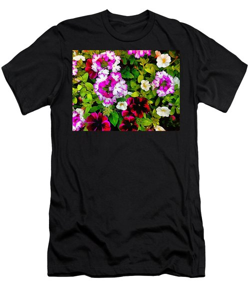 Delicious Floral Foray Men's T-Shirt (Athletic Fit)