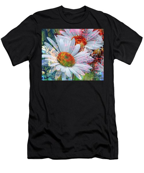 Delightful Daisies Men's T-Shirt (Athletic Fit)