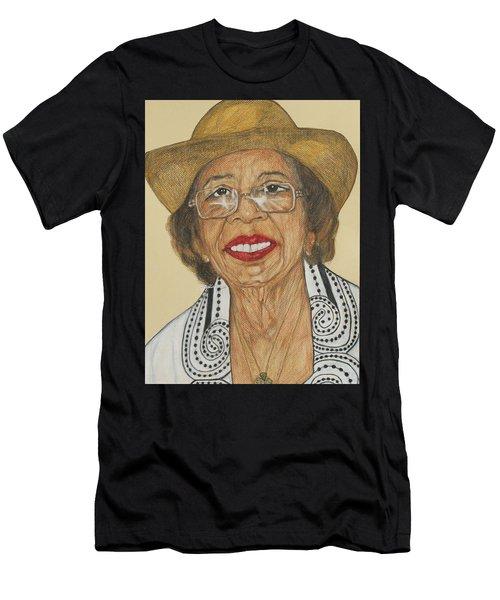 Della Willis Portrait Men's T-Shirt (Athletic Fit)