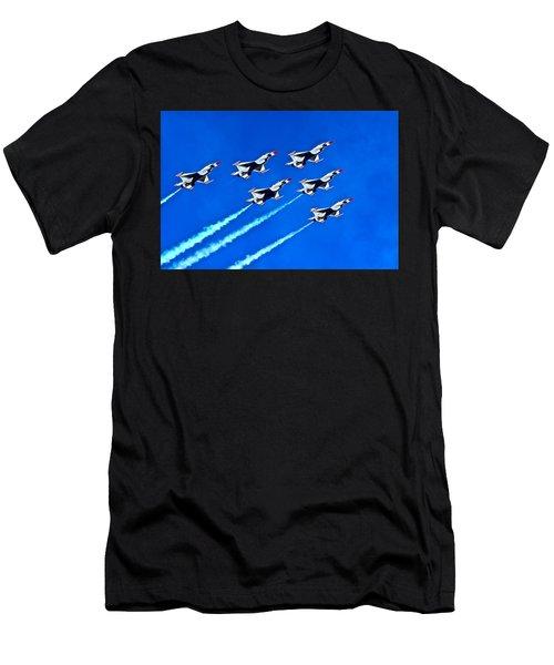 Delta Formation Men's T-Shirt (Athletic Fit)