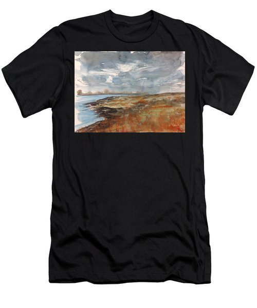 Delta Marsh - Fall Men's T-Shirt (Athletic Fit)
