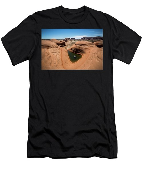 Delta Pool 2 Men's T-Shirt (Athletic Fit)