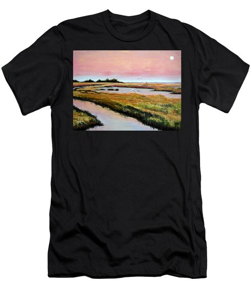 Delta Sunrise Men's T-Shirt (Athletic Fit)
