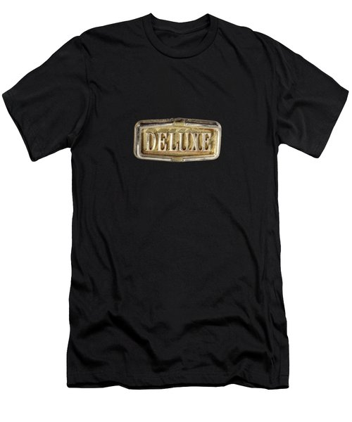 Deluxe Chrome Emblem Men's T-Shirt (Athletic Fit)