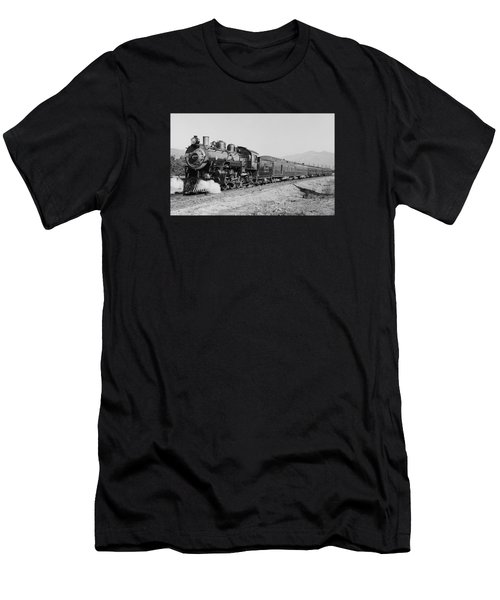 Deluxe Overland Limited Passenger Train Men's T-Shirt (Athletic Fit)