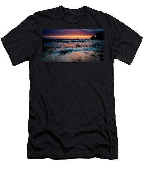 Demartin Beach Sunset Men's T-Shirt (Athletic Fit)