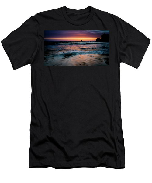 Demartin Beach Sunset Men's T-Shirt (Athletic Fit)