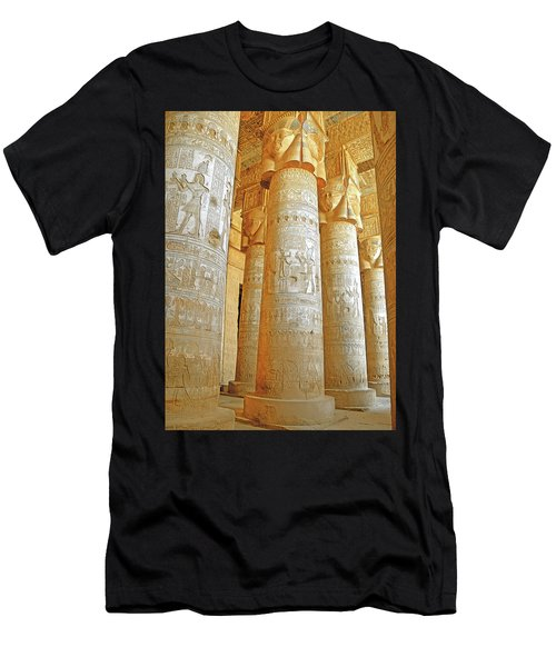 Dendera Temple Men's T-Shirt (Athletic Fit)