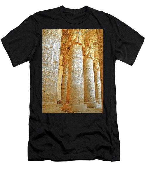 Dendera Temple Men's T-Shirt (Athletic Fit)