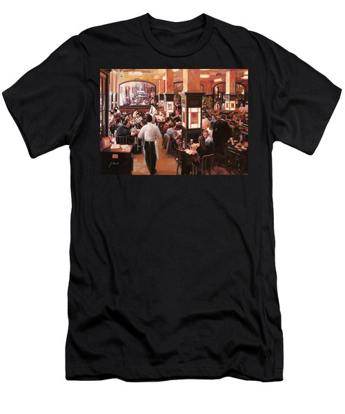 Dentro Il Caffe Men's T-Shirt (Athletic Fit)