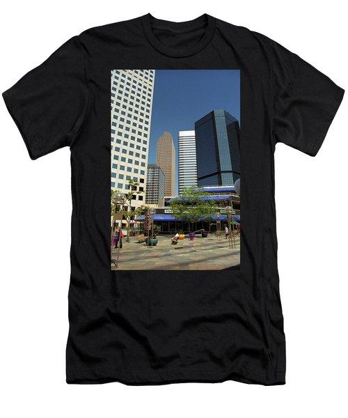 Denver Architecture Men's T-Shirt (Slim Fit) by Frank Romeo