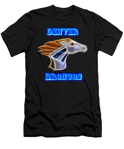 Denver Broncos 2 Men's T-Shirt (Athletic Fit)