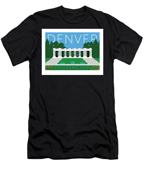 Denver Cheesman Park Men's T-Shirt (Athletic Fit)