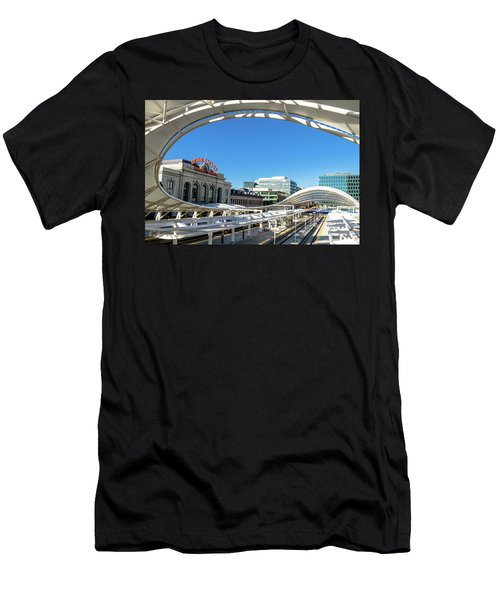 Denver Co Union Station Men's T-Shirt (Athletic Fit)