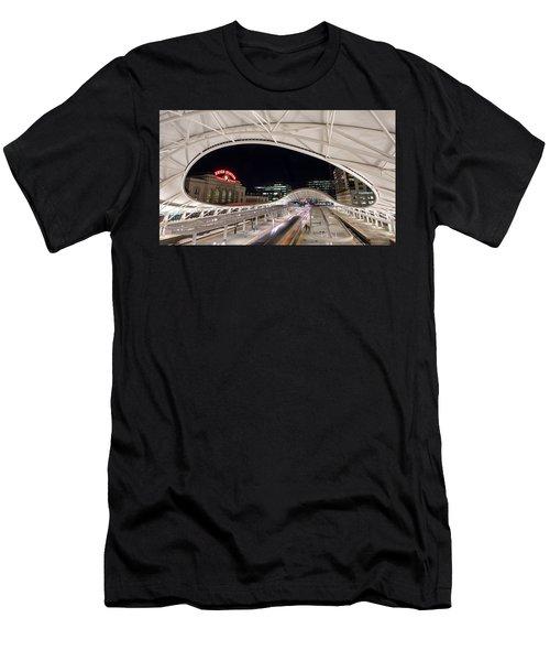 Denver Union Station 3 Men's T-Shirt (Athletic Fit)