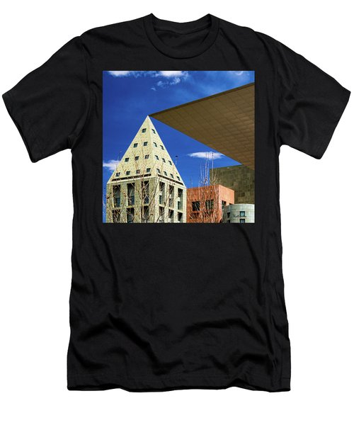 Denver Urban Geometry Men's T-Shirt (Athletic Fit)