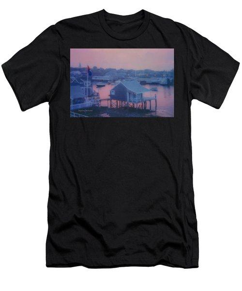Departing Nantucket Men's T-Shirt (Athletic Fit)
