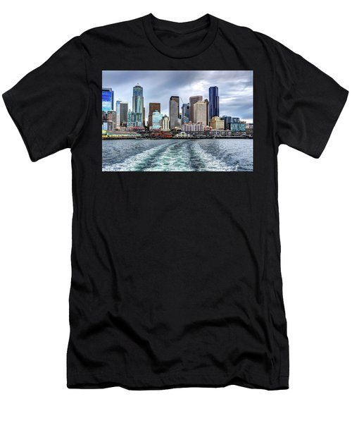 Departing Pier 54 Men's T-Shirt (Athletic Fit)