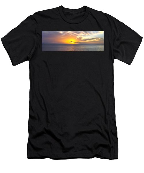 Departing St. Lucia Men's T-Shirt (Athletic Fit)
