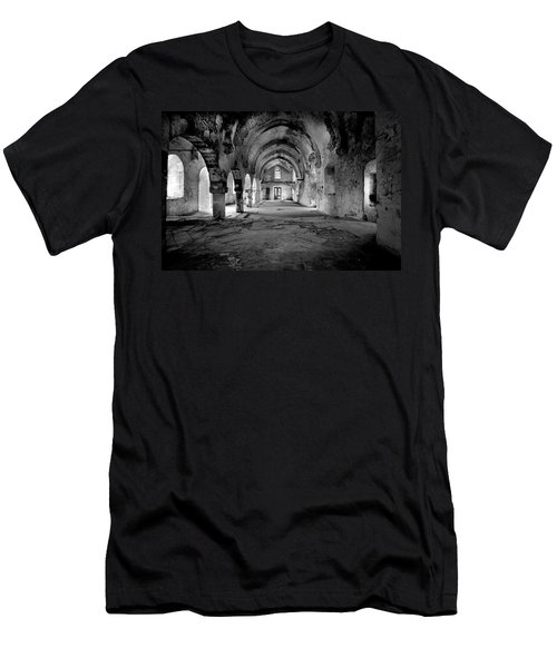 Derelict Cypriot Church. Men's T-Shirt (Athletic Fit)