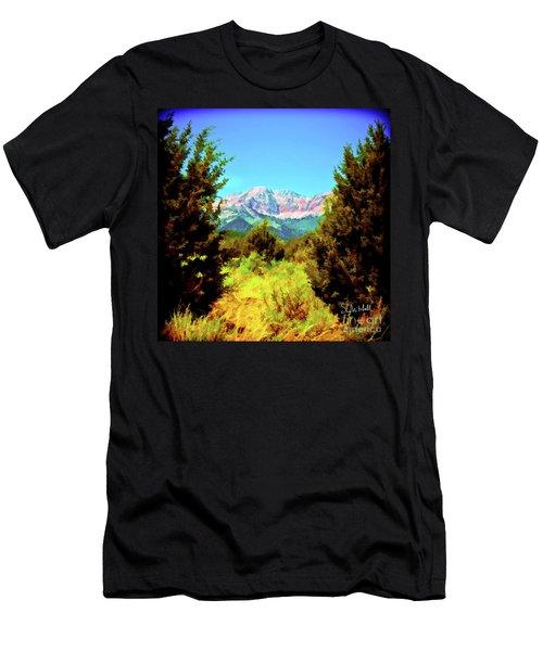Deseret Peak Men's T-Shirt (Athletic Fit)
