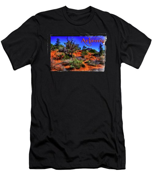 Desert And Mountains Men's T-Shirt (Athletic Fit)
