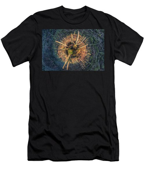 Desert Big Bang Men's T-Shirt (Athletic Fit)