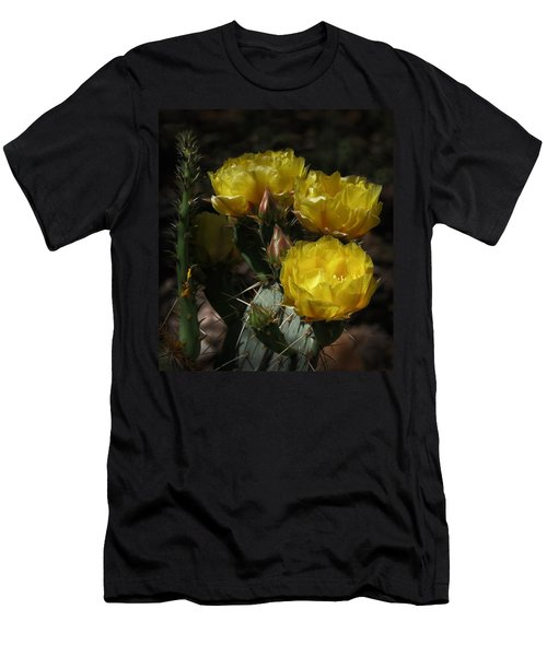 Desert Blooming Men's T-Shirt (Athletic Fit)