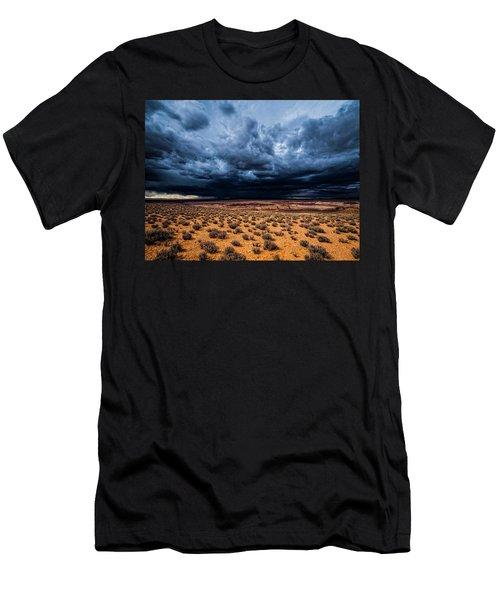 Desert Clouds Men's T-Shirt (Athletic Fit)