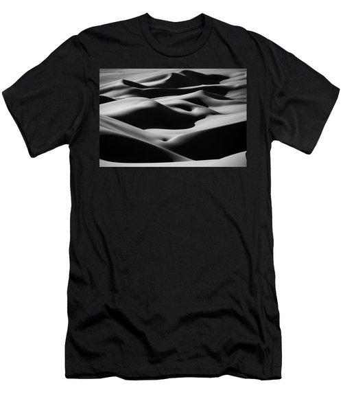 Desert Curves Men's T-Shirt (Athletic Fit)
