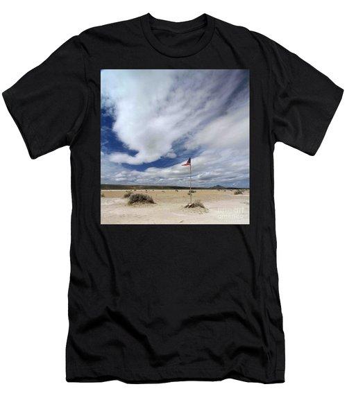 Desert Flag Men's T-Shirt (Athletic Fit)