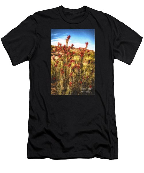 Desert Flora  ... Men's T-Shirt (Athletic Fit)