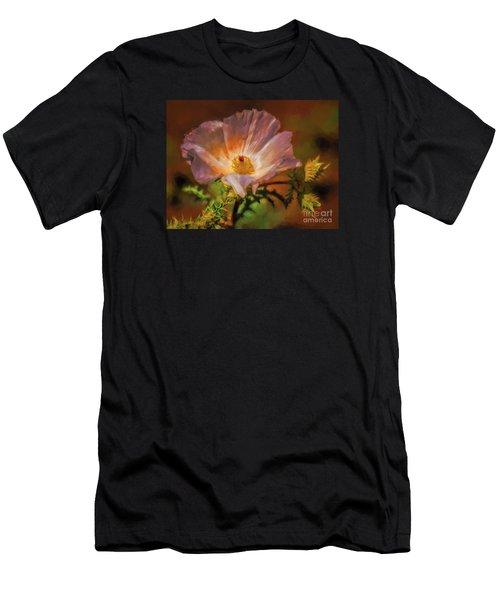 Desert Flower  ... Men's T-Shirt (Athletic Fit)