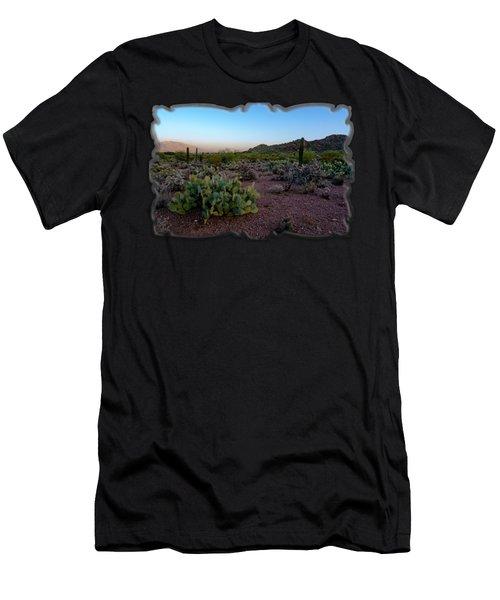 Desert Foothills H29 Men's T-Shirt (Athletic Fit)