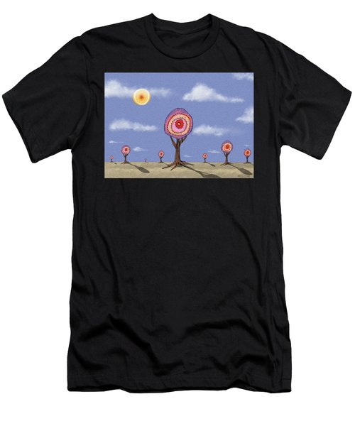 Desert Forest Men's T-Shirt (Athletic Fit)
