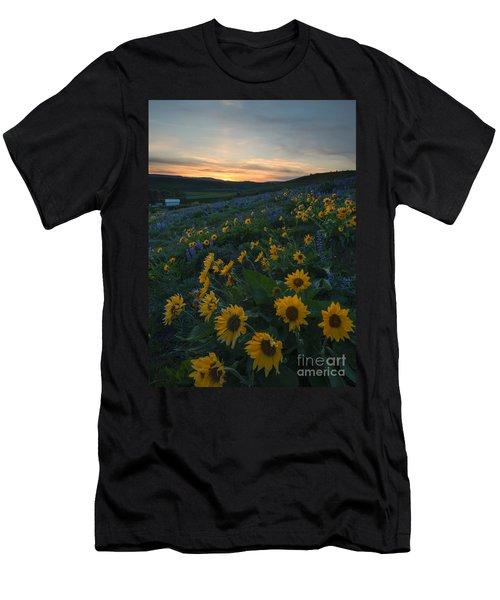 Desert Gold Men's T-Shirt (Athletic Fit)