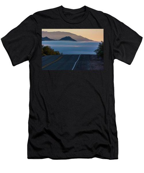 Desert Inversion Highway Men's T-Shirt (Athletic Fit)