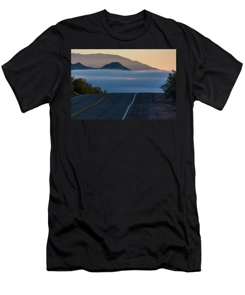 Desert Inversion Highway Men's T-Shirt (Athletic Fit)