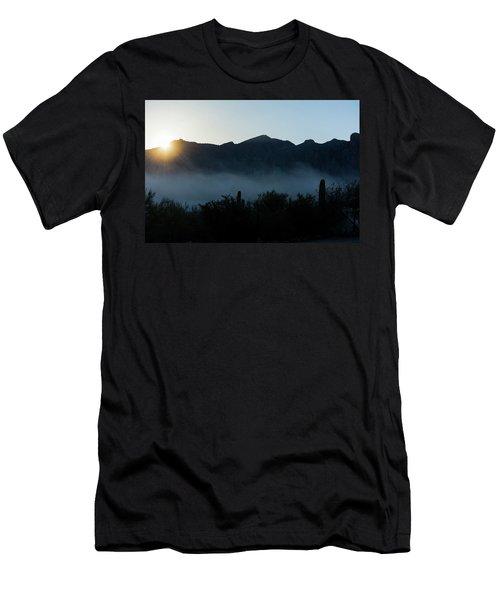 Desert Inversion Sunrise Men's T-Shirt (Athletic Fit)