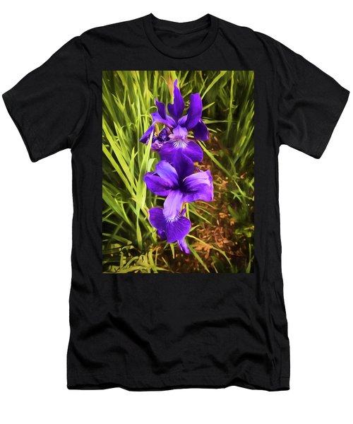 Desert Iris Men's T-Shirt (Athletic Fit)