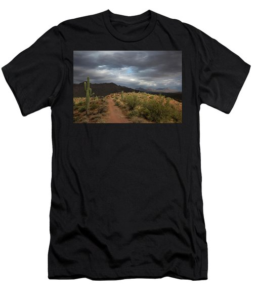 Desert Light And Beauty Men's T-Shirt (Slim Fit) by Sue Cullumber