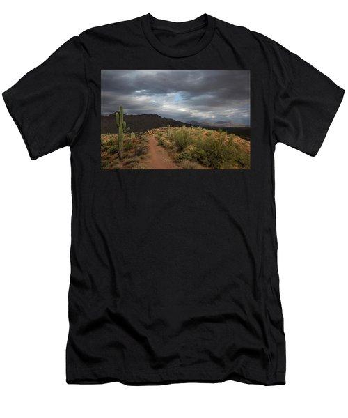 Desert Light And Beauty Men's T-Shirt (Athletic Fit)