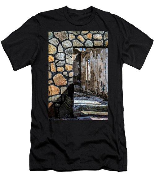 Desert Lodge View 1 Men's T-Shirt (Athletic Fit)