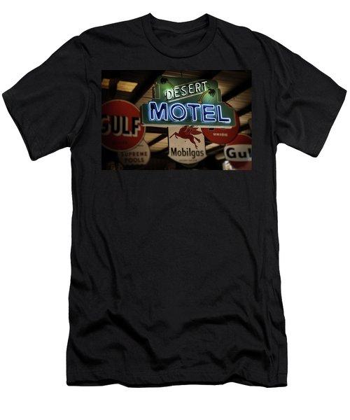 Desert Motel Men's T-Shirt (Athletic Fit)