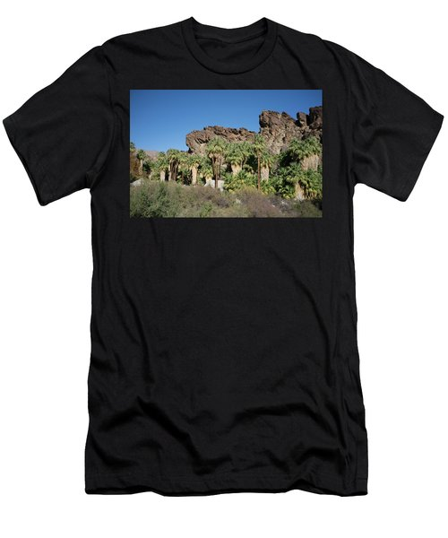 Men's T-Shirt (Athletic Fit) featuring the photograph Desert Oasis V by Frank DiMarco